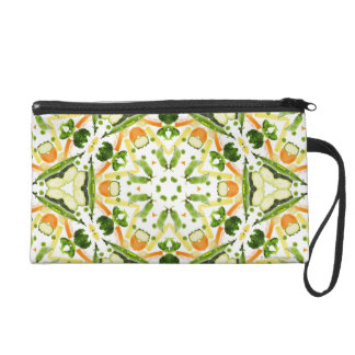 Good karma and well being from a healthy diet 3 wristlet