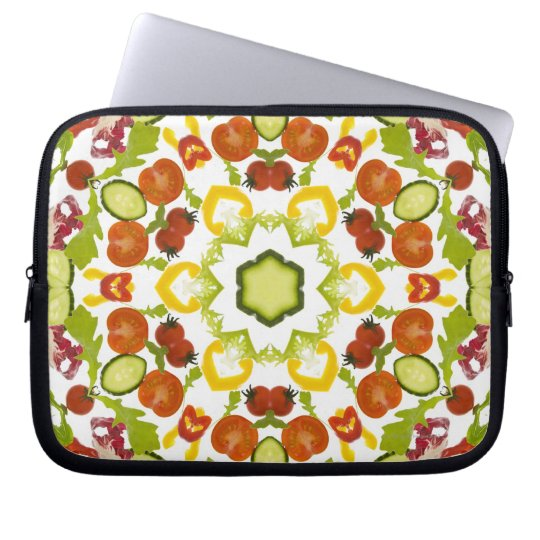 Good karma and well being from a healthy diet computer sleeve