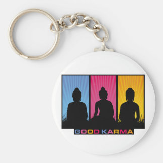 Good Karma Buddhas Key Chain