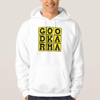 Good Karma, Buddhist Tenet Hoodie