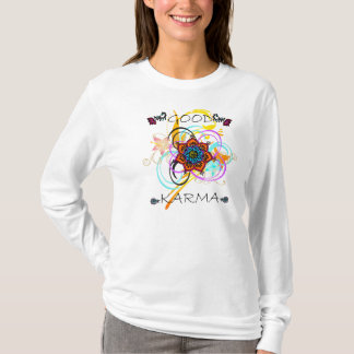 Good Karma Mandala Swirls Hoody Long Sleeve