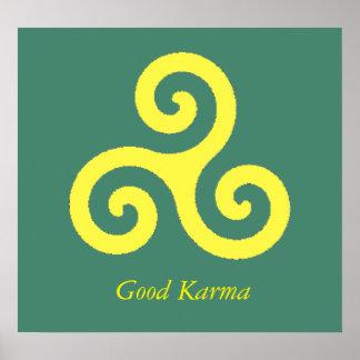 Good Karma Poster