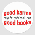 Good karma! the sticker (lg)