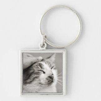 Good kitty! keychain