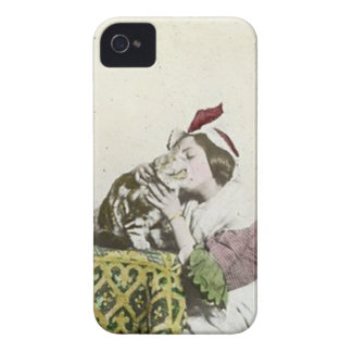 Good Kitty Tea Time Vintage Victorian Tea Party iPhone 4 Case-Mate Case