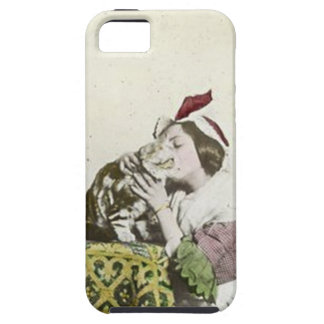 Good Kitty Tea Time Vintage Victorian Tea Party iPhone SE/5/5s Case