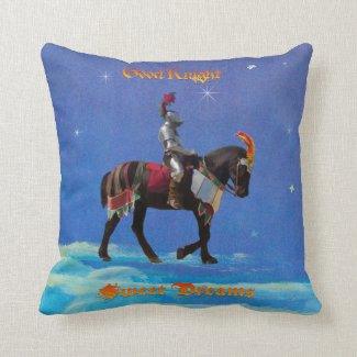 Good Knight, Sweet Dreams Throw Pillow
