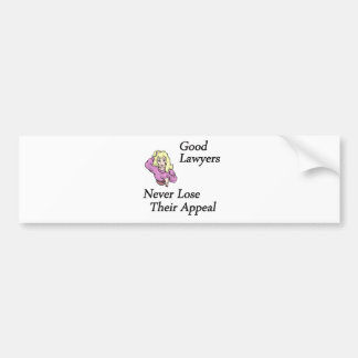 Good Lawyers Bumper Sticker