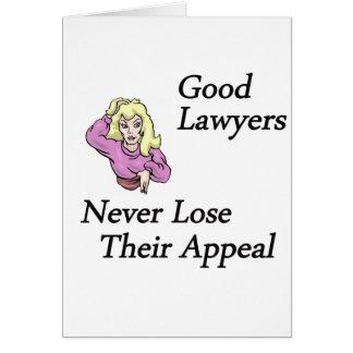 Good Lawyers Card