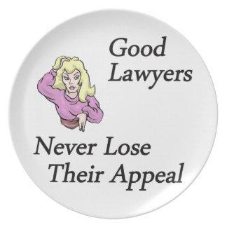 Good Lawyers Melamine Plate