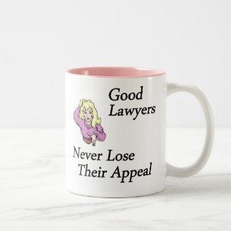 Good Lawyers Two-Tone Coffee Mug