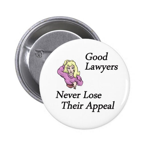 good lawyers woman button