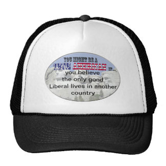 good liberal another country trucker hat
