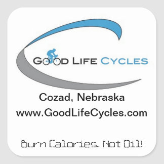 Good Life Cycles Stickers