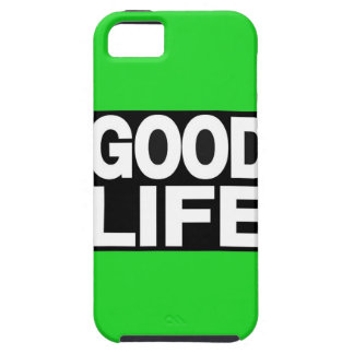 Good Life Long Green iPhone 5 Cover
