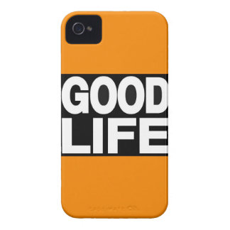 Good Life Long Orange iPhone 4 Case