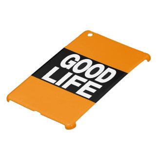 Good Life Long Orange iPad Mini Cover
