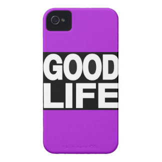 Good Life Long Purple iPhone 4 Covers