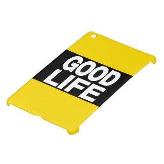 Good Life Long Yellow iPad Mini Cases