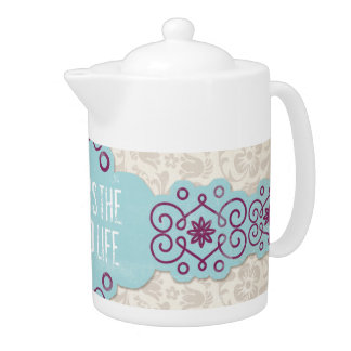 Good Life Teapot Kitchen Tea Pot