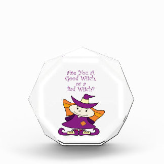 Good Little Witch Acrylic Award
