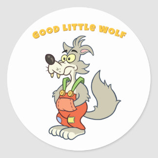 Good Little Wolf Sticker