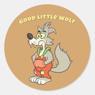 Good Little Wolf Sticker v2