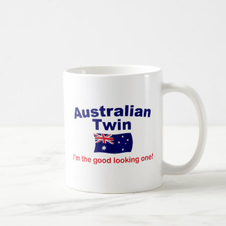 Good Lkg Australian Twin Classic White Coffee Mug