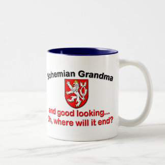 Good Lkg Bohemian Grandma Mugs