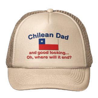 Good Lkg Chilean Dad Trucker Hat