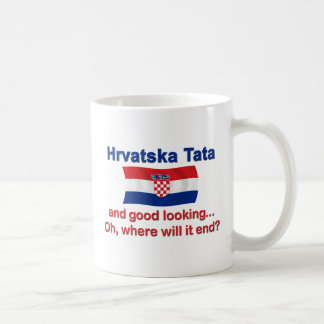 Good Lkg Croatian Tata Dad Coffee Mug