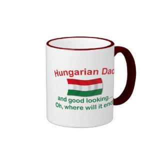 Good Lkg Hungarian Dad Ringer Mug