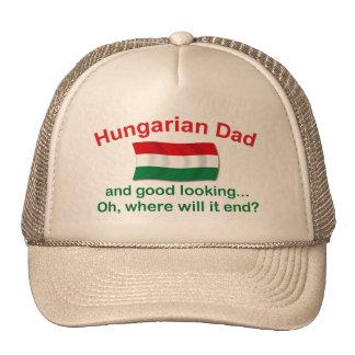 Good Lkg Hungarian Dad Trucker Hat