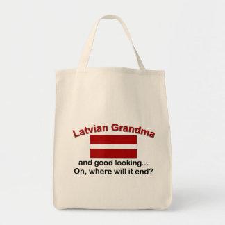 Good Lkg Latvian Grandma Bags