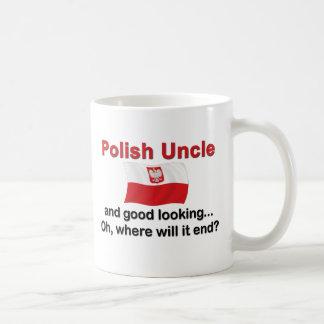 Good Lkg Polish Uncle Coffee Mugs