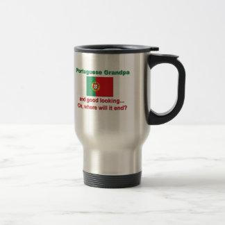 Good Lkg Portuguese Grandpa Travel Mug