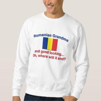 Good Lkg Romanian grandma Sweatshirt