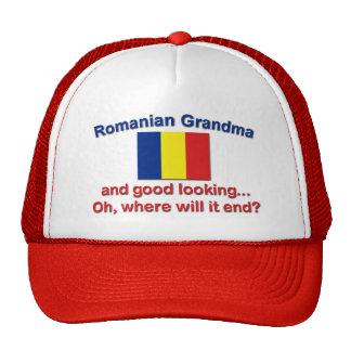 Good Lkg Romanian grandma Trucker Hat
