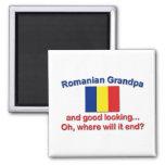 Good Lkg Romanian Grandpa Refrigerator Magnet