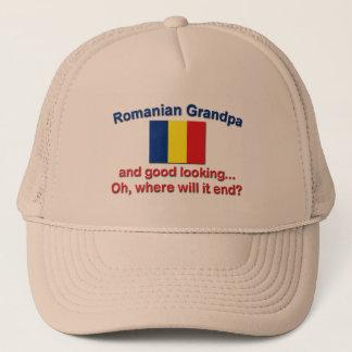 Good Lkg Romanian Grandpa Trucker Hat
