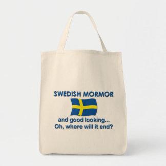 Good Lkg Swedish Mormor Tote Bag