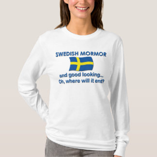 Good Lkg Swedish Mormor (Grandma) T-Shirt