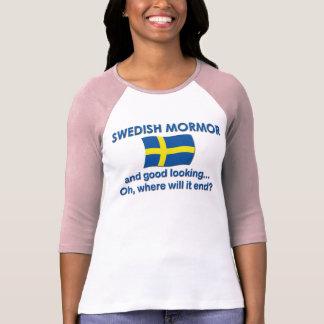 Good Lkg Swedish Mormor T-shirts