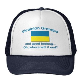 Good Lkg Ukrainian Grandpa Trucker Hat