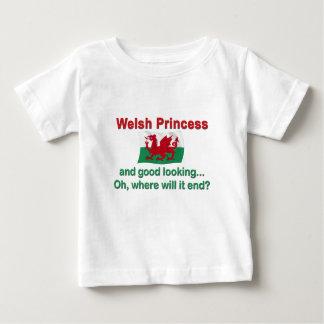 Good Lkg Welsh Princess Baby T-Shirt
