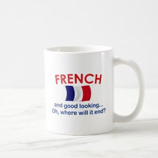 Good Looking and French Classic White Coffee Mug