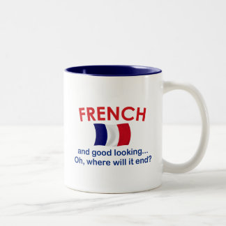 Good Looking and French Two-Tone Coffee Mug