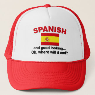 Good Looking and Spanish Trucker Hat