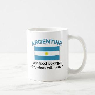 Good Looking Argentine Coffee Mug
