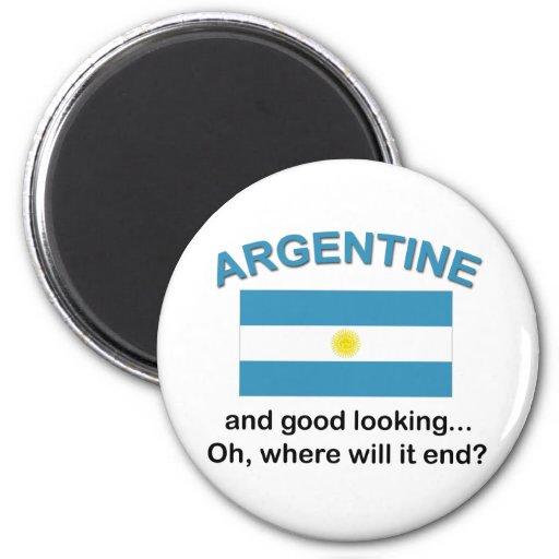 Good Looking Argentine Fridge Magnet